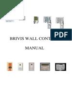 Brivis Wall Control Manual