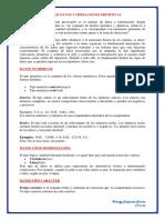Tipos de Datos y Operaciones Primitivas
