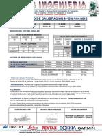 Certificado Calibracion -Leica Ts06