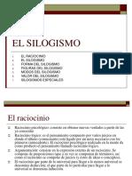 3. El Silogismo