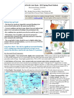 Red River and Devils Lake Basin flood forecast