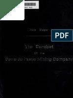 Conduct of Cerro de 00 May Erich