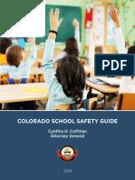Colorado Attorney General School Safety Guide