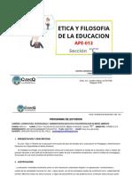 Programa Etica Sección c