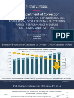 Despite a Decline in Incarceration, Correction Spending, Violence, and Use of Force Continued to Rise in FY 2018