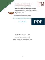 Investigación sobre Simulación (Modelos de optimización de recursos)