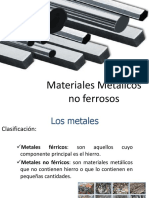 Materiales Metalicos No Ferreos
