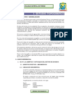 Estudio Topografico Aa.vv. La Libertad - Antioquia