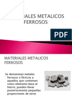 MATERIALES METALICOS FERROSOS