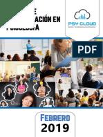 Catalogo Cursos 2019 Psy Cloud Consultores