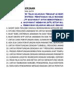 CVM Latihan 7 November 2018