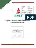 04.1 Reorganizacio¦ün Corporativa de Petro¦üleos Mexicanos