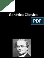 GENÉTICA CLÁSSICA  1ª LEI DE MENDEL-1