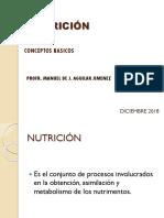Conceptos Basicos de Nutrición  triptico