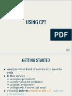 using CPT