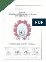 (MAN-SGC-DGI-001-02) Manual de Gestión de La Calidad