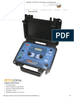 MEGABRAS _ MTD-20KWe _ Earth Resistance and Resistivity Meter -Foto