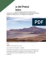 Leyendas Del Potosí Prehispánico