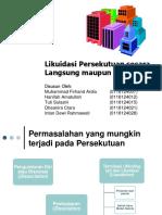 AKL- Persekutuan Likuidasi