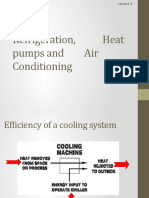 Refrigeration, Heat Pumps and Air Conditioning