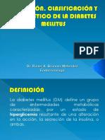 Definición, Clasificación y Diagnóstico de La Diabetes Clases Unu