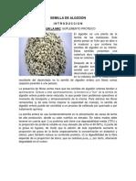 Semilla de Algodón en alimentación animal