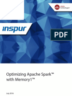 Optimizing Apache Spark With Memory1