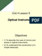 Unit4 Lesson9 Optical Instruments