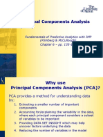 Module 4-2 Principal Components Analysis PPT