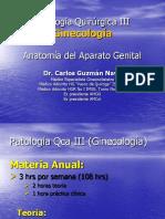 1.- Anatomia Del Tracto Genital