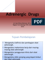 Adrenergic  Drugs 2015.pptx