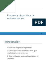 Procesos y dispositivos de Automatización
