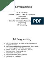 Tcl Awk Xgraph Basics