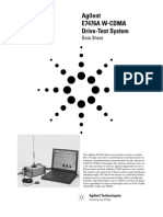 Agilent W-CDMA Drive-Test System E7476A