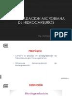 15. Biodegradacion de Hidrcarburos
