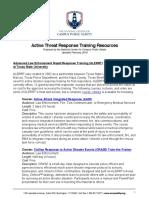 Active Threat Response Trainings Final