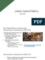 Salud Publica y Modernidad 2018-2