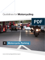 IHE Guidelines for Motorcycling Motorcycle Parking
