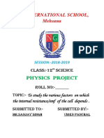 12th Physics Project PDF File