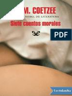 Siete cuentos morales - J M Coetzee.pdf