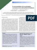 Intervención neuroanatomica de los principales síntomas motores y no motores de parkison