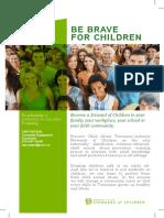 Be Brave for Children Brochure