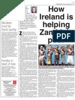 How Ireland is Helping Zambia's Poor