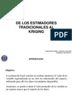 Capitulo v - Cátedra Valorización de Minas - El Krigeado