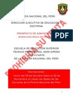 Prospecto Admision Licenciados 2014
