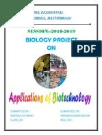 Snehalata Biology Project