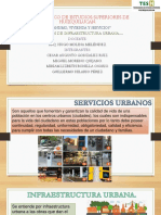 Servicios de Infraestructura Urbana