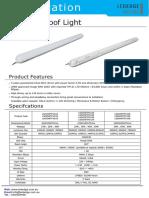 LED Tri Proof Iight Data Sheet