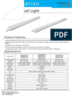LED Tri Proof Iight Data Sheet