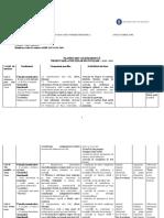 Planificare Unitati High Flyer 8